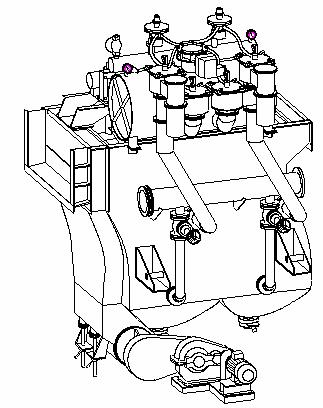 Машина отсадочная  ВБ-2,5х1-М