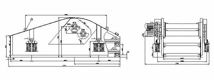 Грохот двухситный ГВЧ-7х2