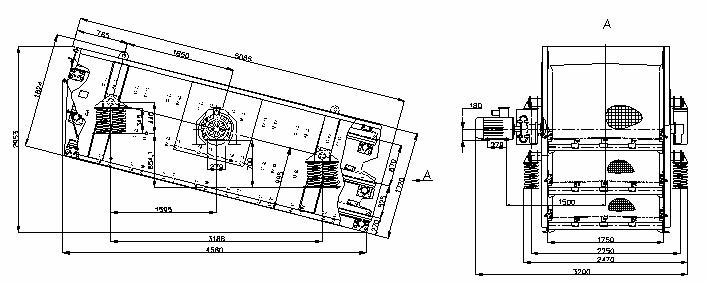 Грохот ГВи-8х3-М (ГИЛ 53 А)