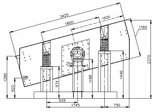 Грохот вибрационный, инерционный ГВИ-3,75х2М