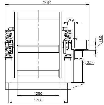 Грохот инерционный ГВи-3,75х2М