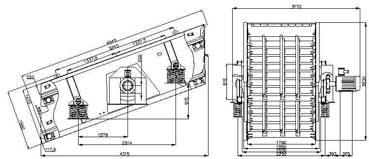 Грохоты инерционные тяжелого типа исполнения ГИТ 52 ЛМ-05; -06; -08