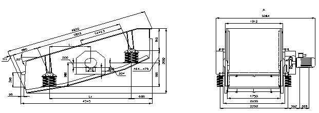 Грохот инерционный BSk-8,0x2S