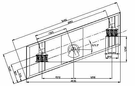 Грохот вибрационный, инерционный ГВИ-9х1-М