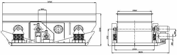 Грохот инерционный ГСТ 62 Б-1