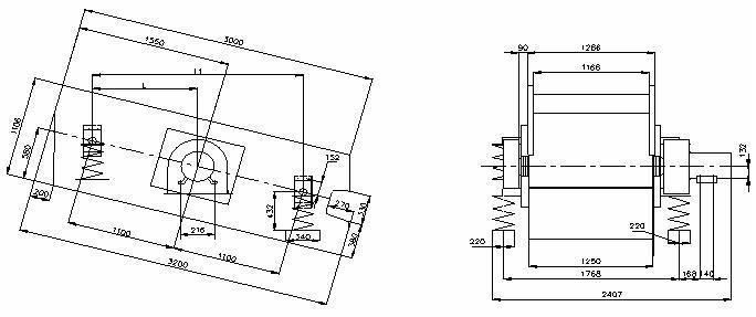 Грохот инерционный ГВи-3,75х2 (ГИЛ 32 )